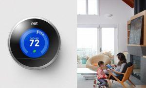 termostato NEST, intelligente e semplice da usare