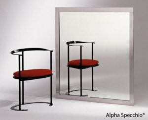 uno specchio per il trattamento acustico degli ambienti