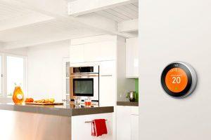 Installazione del termostato Nest in una casa domotica