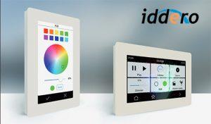 iddero verso touch screen per la domotica